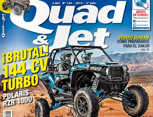 DTV SHEREDDER en revista especializada Quad & Jet