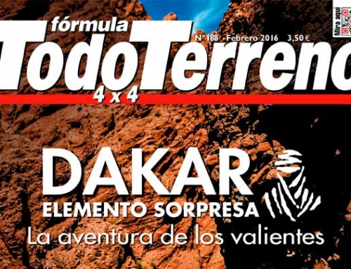 DTV SHEREDDER en revista especializada FORMULA TODO TERRENO 4X4